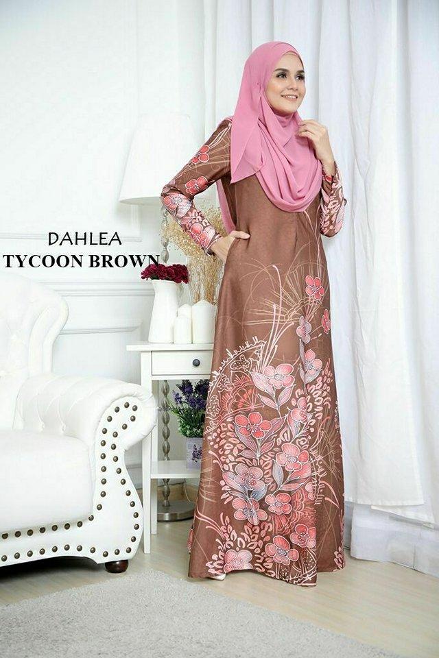 JUBAH DAHLEA TYCOON BROWN
