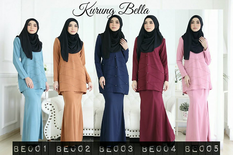 KURUNG MODEN BELLA ALL