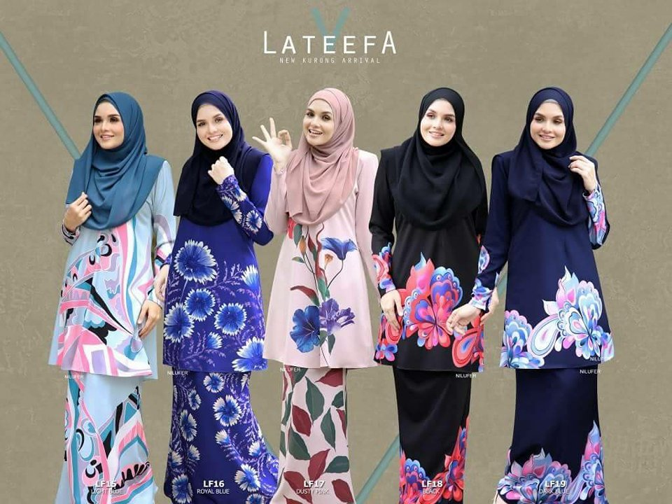 KURUNG MODEN LATEEFA 5.0 LF ALL