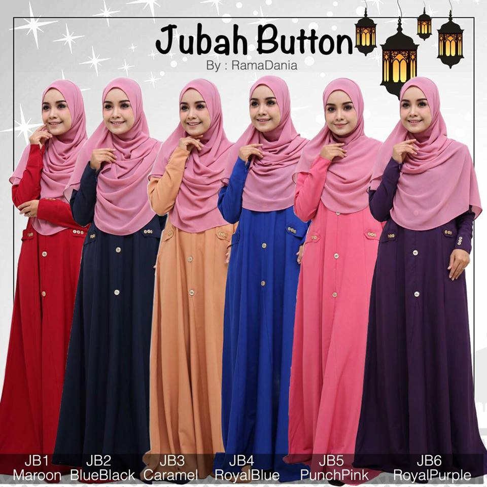 JUBAH BUTTON JB ALL