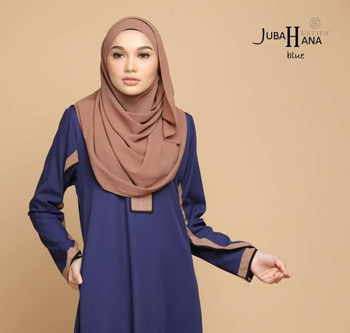 JUBAH CREPE HANA CLOSE