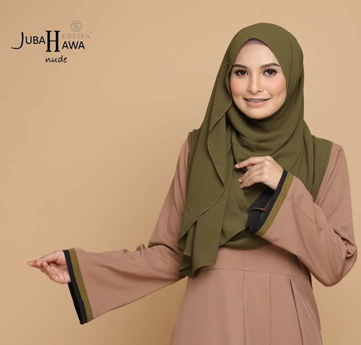JUBAH CREPE HAWA CLOSE