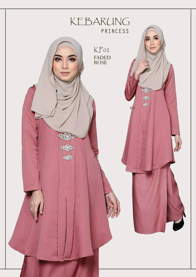 KEBARUNG PRINCESS RAYA 2018 FADE ROSE