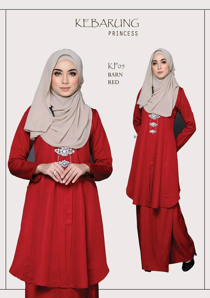 KEBARUNG PRINCESS RAYA 2018 RED