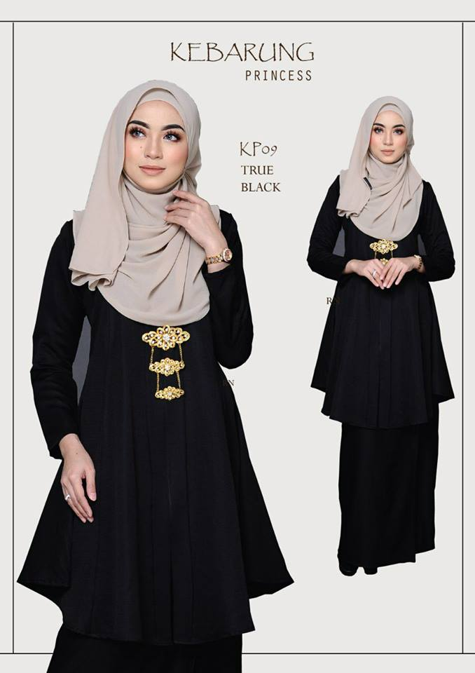 KEBARUNG PRINCESS RAYA 2018 TRUE BLACK