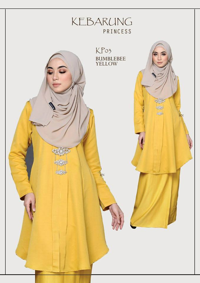 KEBARUNG PRINCESS RAYA 2018 YELLOW