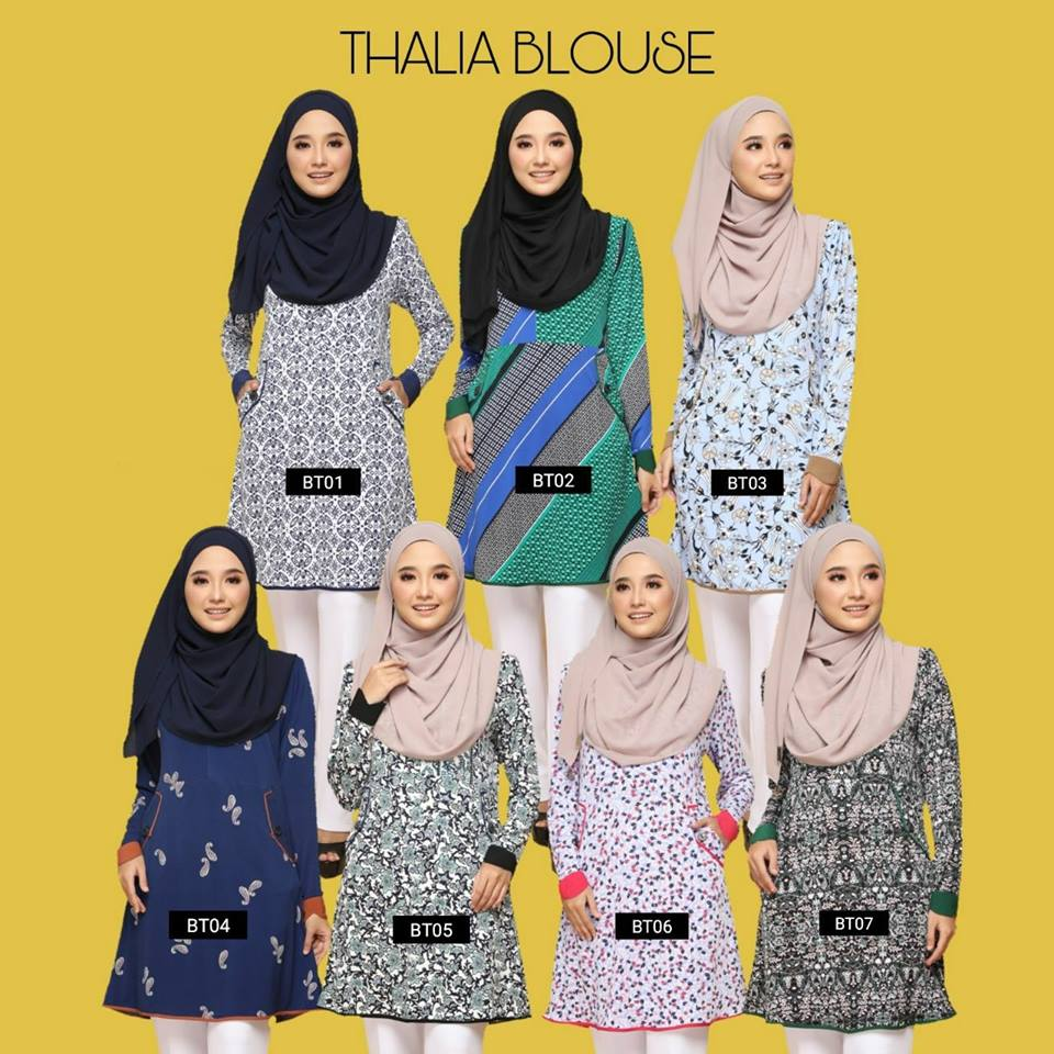BLOUSE MUSLIMAH LYCRA THALIA BT ALL