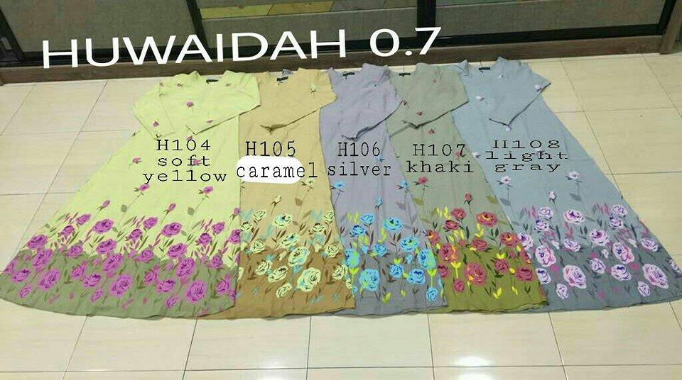 JUBAH MUSLIMAH TERKINI RAYA CREPE HUWAIDAH 7.0 H ALL 2