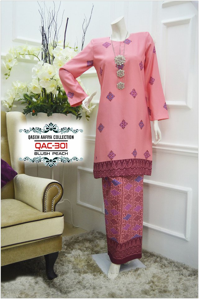 KURUNG SONGKET RAYA 2018 QASEH AAFIYA COLLECTION QAC301 1