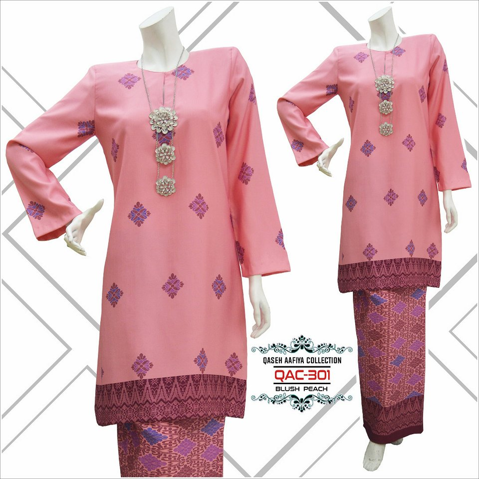KURUNG SONGKET RAYA 2018 QASEH AAFIYA COLLECTION QAC301 3