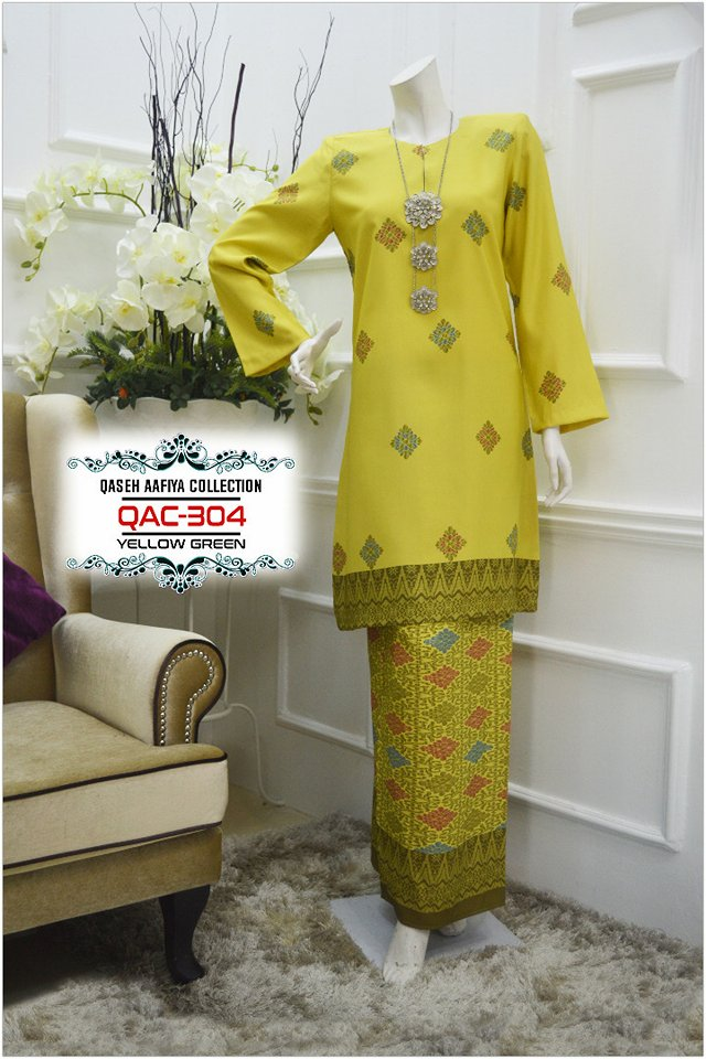 KURUNG SONGKET RAYA 2018 QASEH AAFIYA COLLECTION QAC304 1