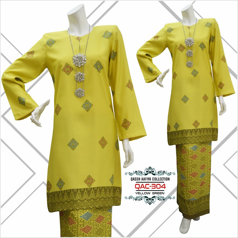 KURUNG SONGKET RAYA 2018 QASEH AAFIYA COLLECTION QAC304 3