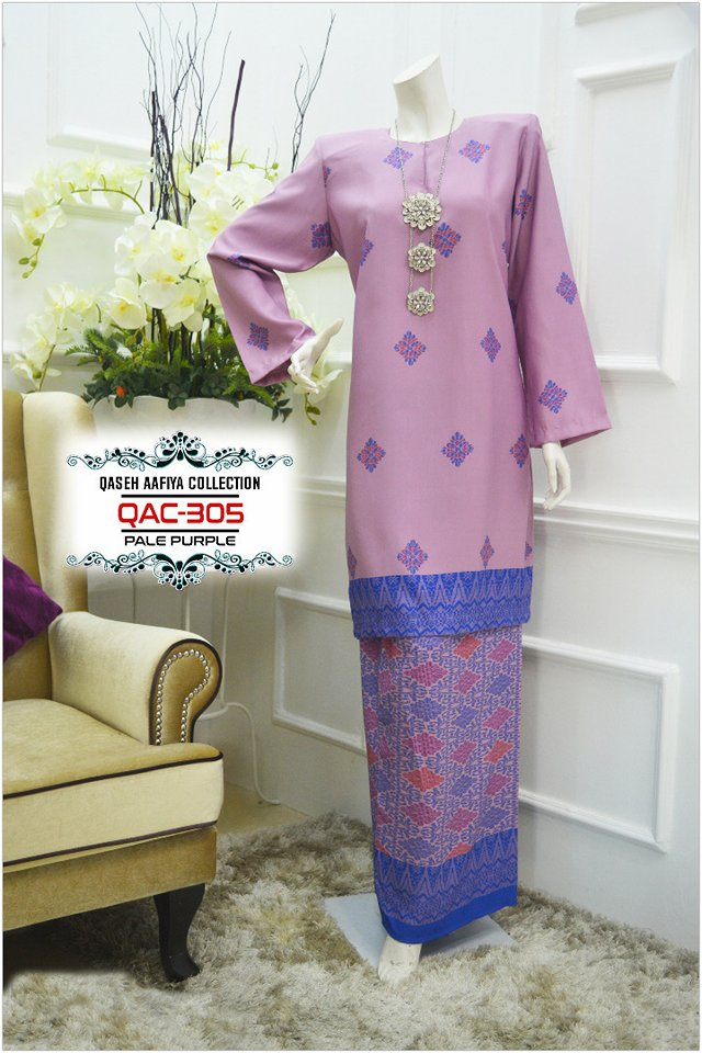 KURUNG SONGKET RAYA 2018 QASEH AAFIYA COLLECTION QAC305 1