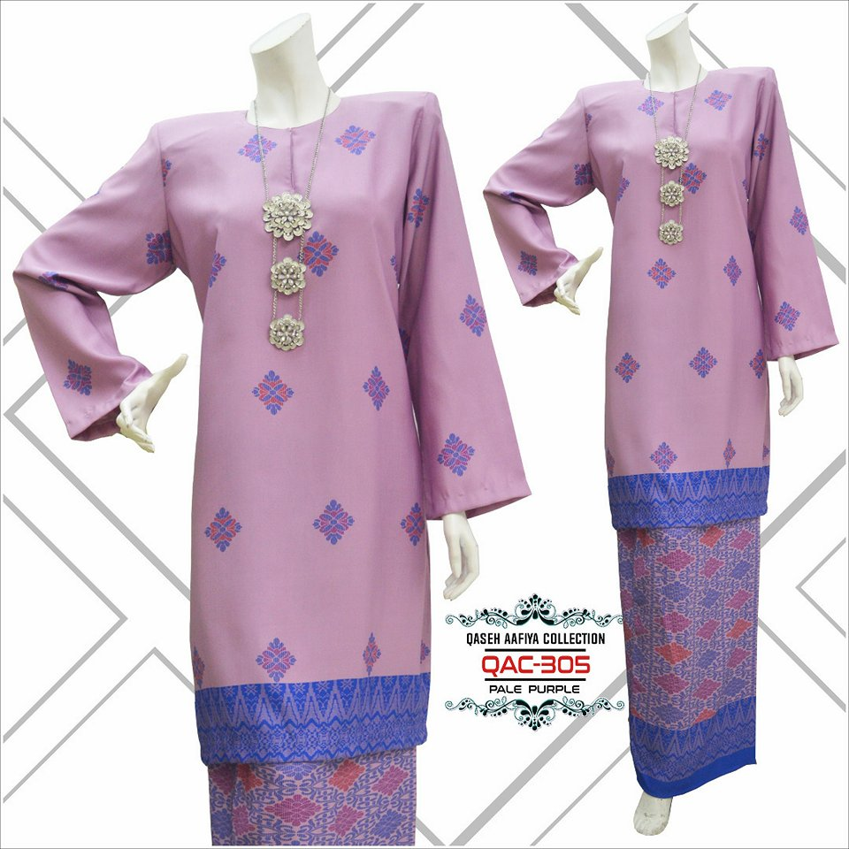 KURUNG SONGKET RAYA 2018 QASEH AAFIYA COLLECTION QAC305 3
