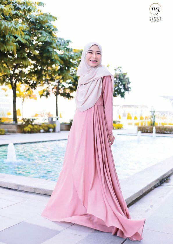 DRESS RAYA TERKINI AISYAH PINK 2