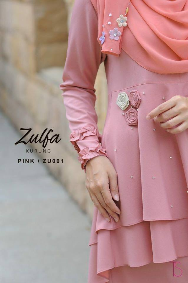 KURUNG MODEN RAYA 2018 ZULFA ZU CLOSE