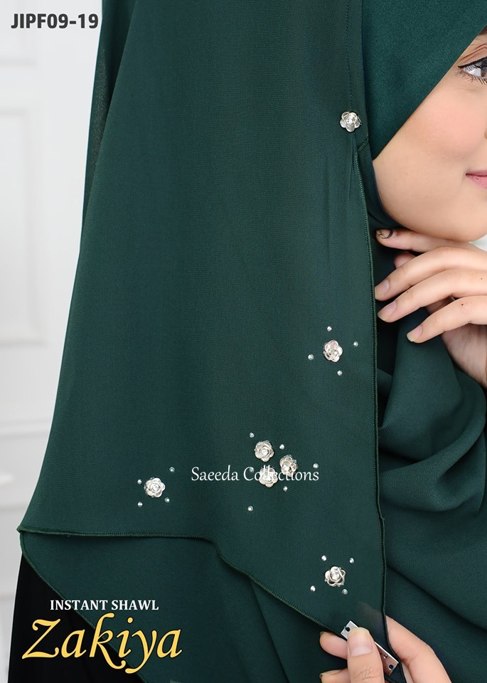 INSTANT SHAWL RAYA ZAKIYA JIPF CLOSE 3