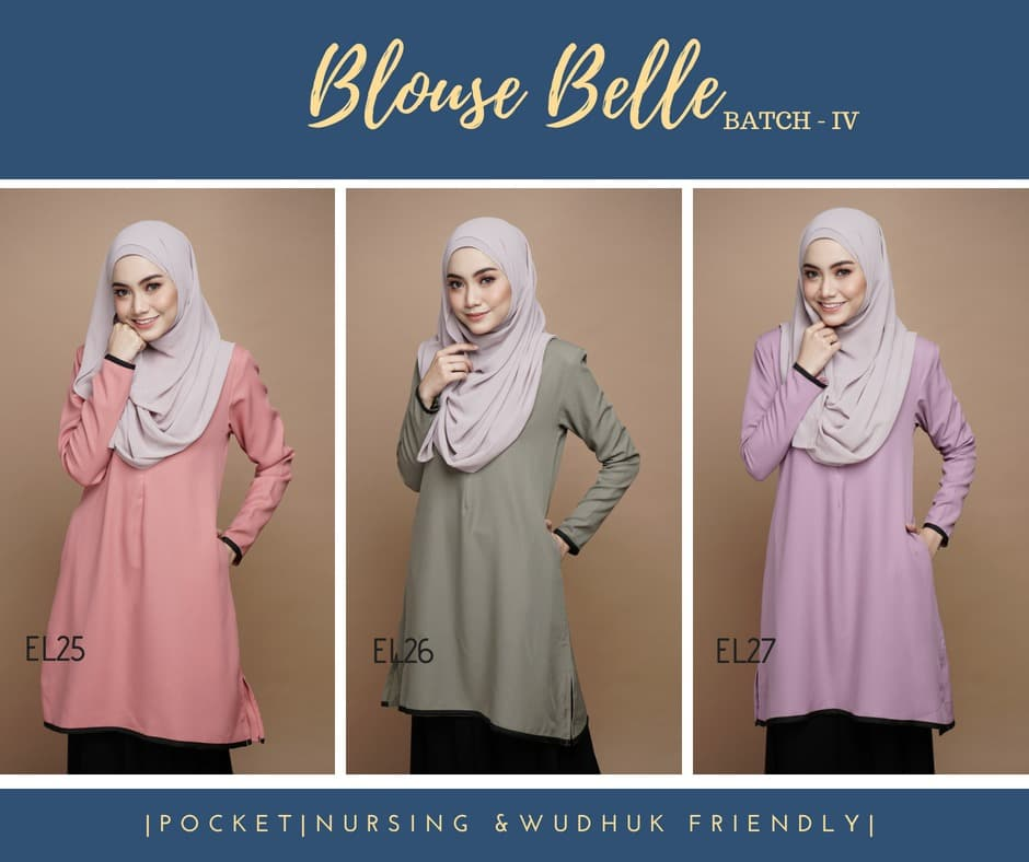 BLOUSE MUSLIMAH BELLE EL ALL 2
