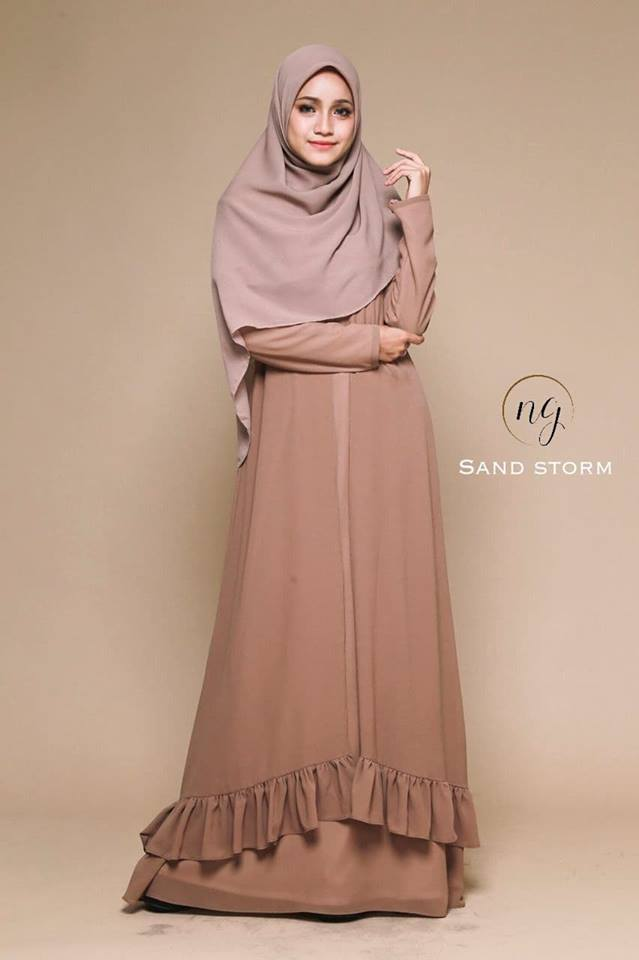 JUBAH DRESS ELORA STORM