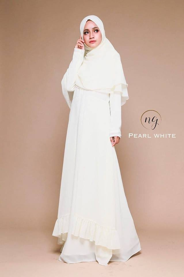 JUBAH DRESS ELORA WHITE