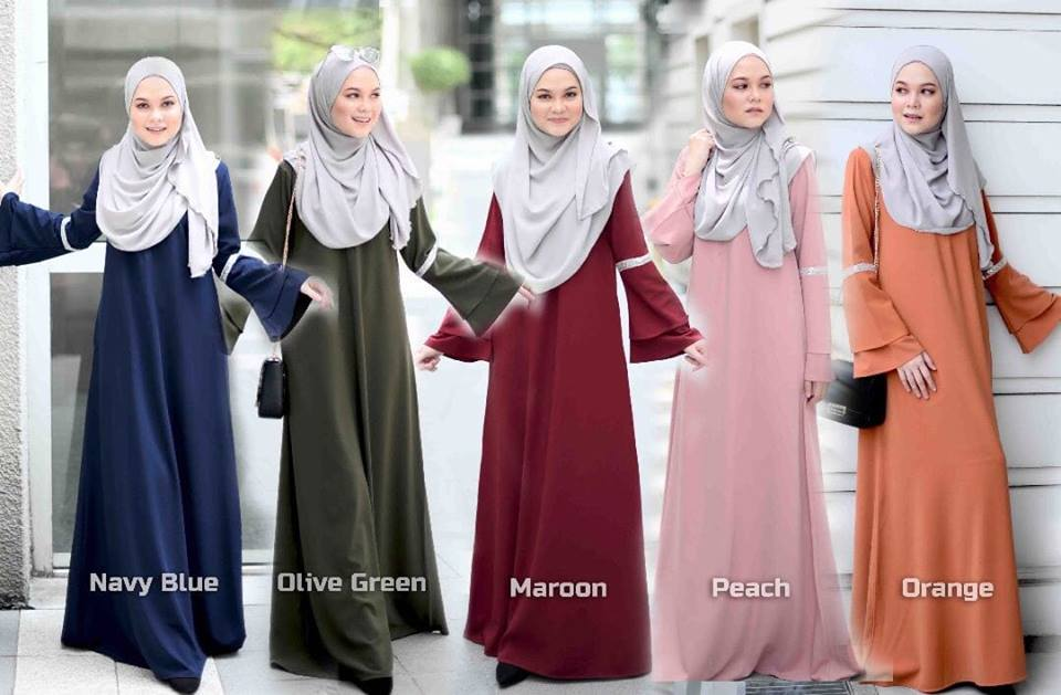 JUBAH LAYER ALIFAH ALL