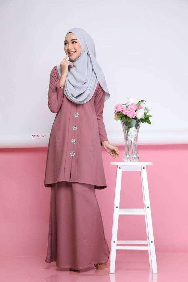 KEBARUNG NAWRA DUSTY ROSE 1