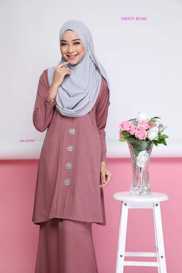 KEBARUNG NAWRA DUSTY ROSE 2