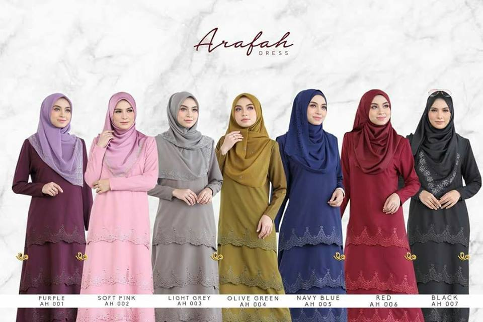 DRESS LAYER TERKINI ARAFAH RAYA 2018 AH00 ALL