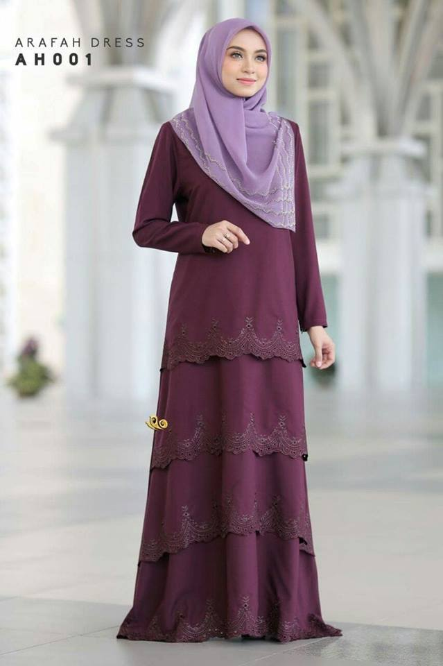 DRESS LAYER TERKINI ARAFAH RAYA 2018 AH001 1