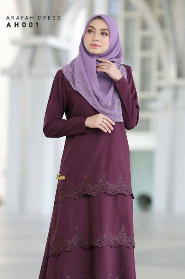 DRESS LAYER TERKINI ARAFAH RAYA 2018 AH001 2