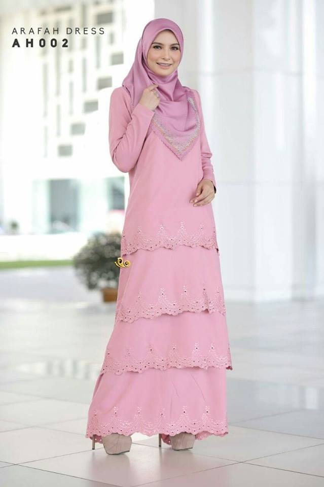 DRESS LAYER TERKINI ARAFAH RAYA 2018 AH002 2
