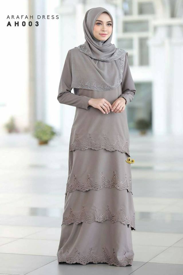DRESS LAYER TERKINI ARAFAH RAYA 2018 AH003 2