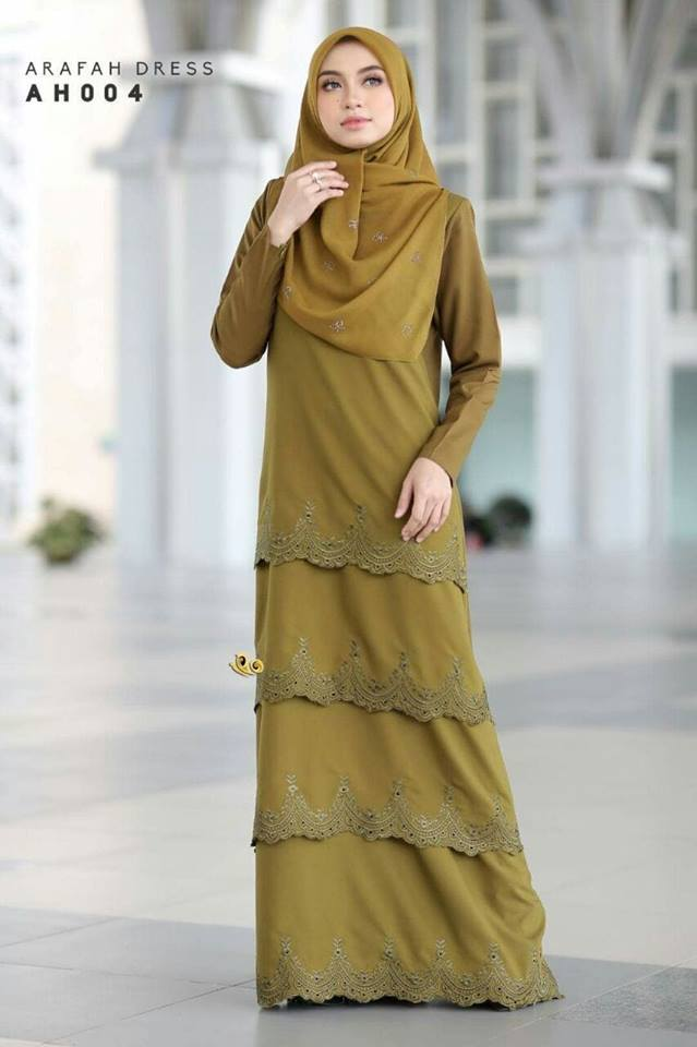 DRESS LAYER TERKINI ARAFAH RAYA 2018 AH004 1