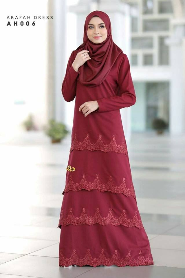DRESS LAYER TERKINI ARAFAH RAYA 2018 AH006 1