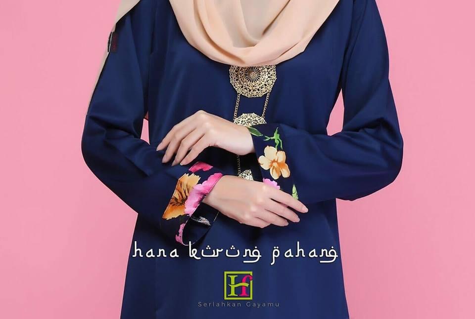 KURUNG PAHANG PRINTED FLORAL HANA CLOSE