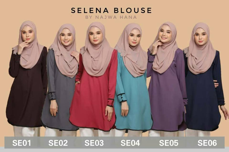 BLOUSE MUSLIMAH SELENA ALL