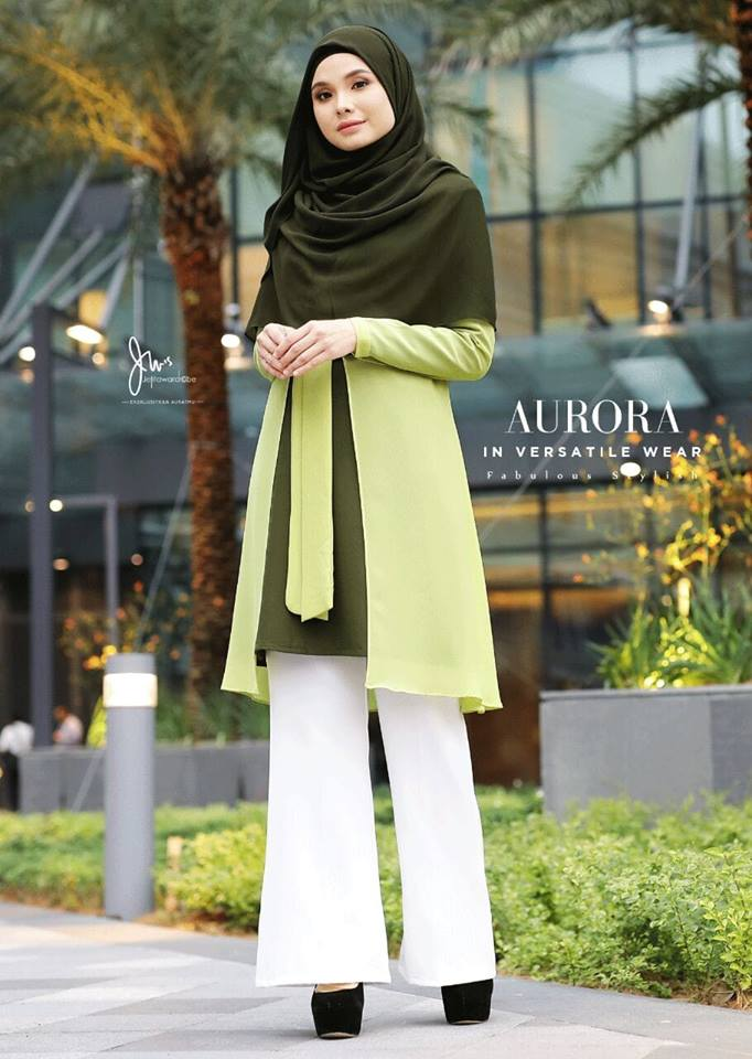 BLOUSE VERSATILE AURORA HILL GREEN 2