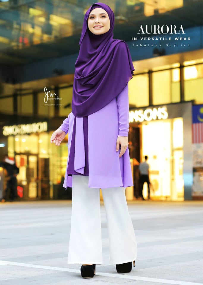 BLOUSE VERSATILE AURORA MAC PURPLE 1