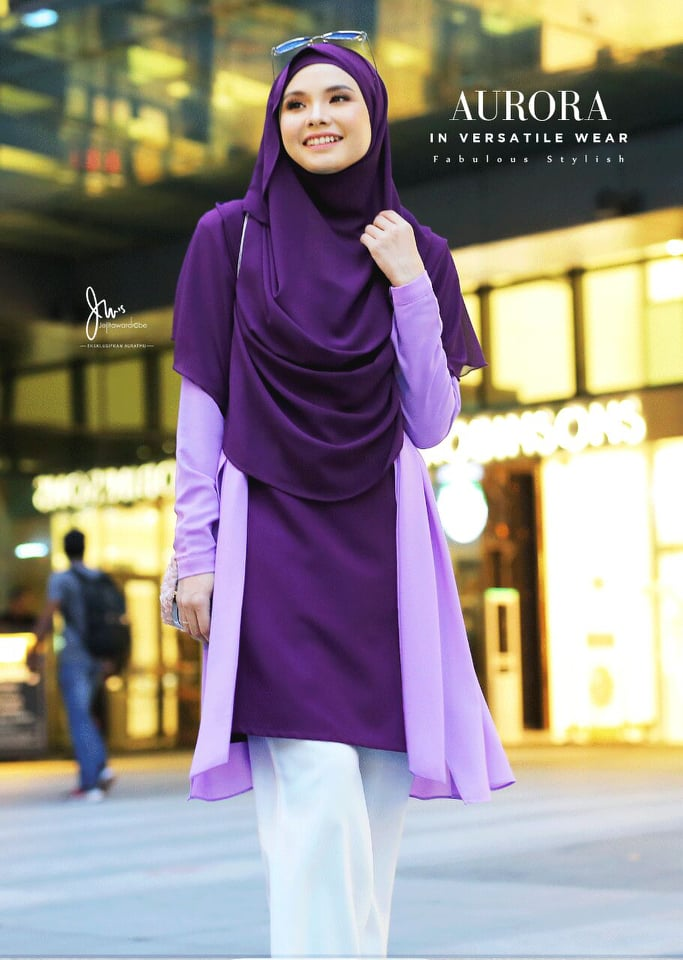 BLOUSE VERSATILE AURORA MAC PURPLE 2