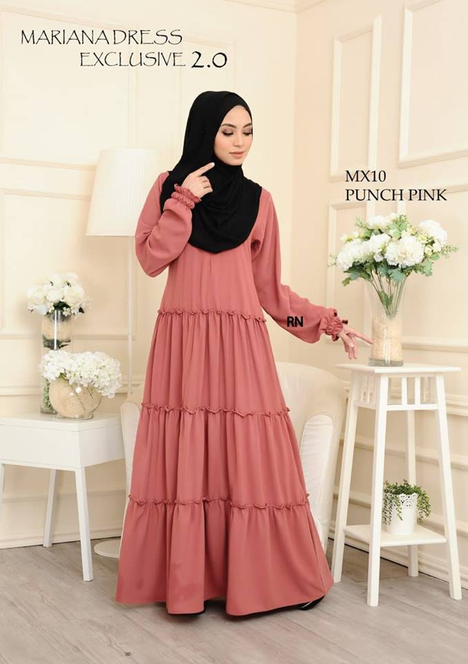 DRESS MARIANA ABAYA FURSAN EKSKLUSIF MX10 1