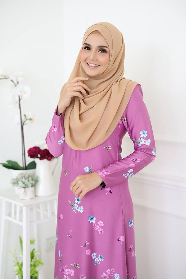 JUBAH KOREAN SILK ALYA 2.0 LIGHT PINK 2