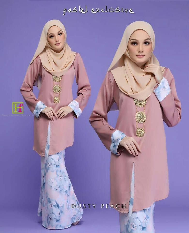 KEBARUNG PASTEL EKSKLUSIF DUSTY PEACH 2