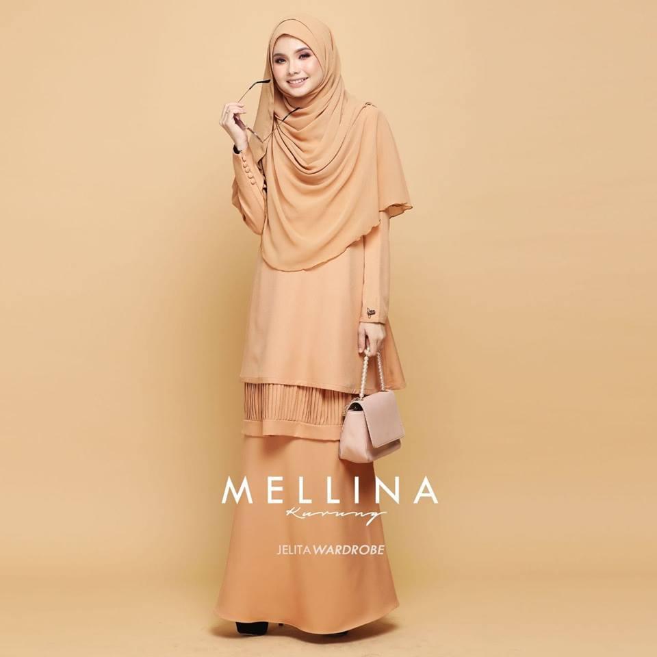 KURUNG MODEN MUSLIMAH MELLINA NUDE 1