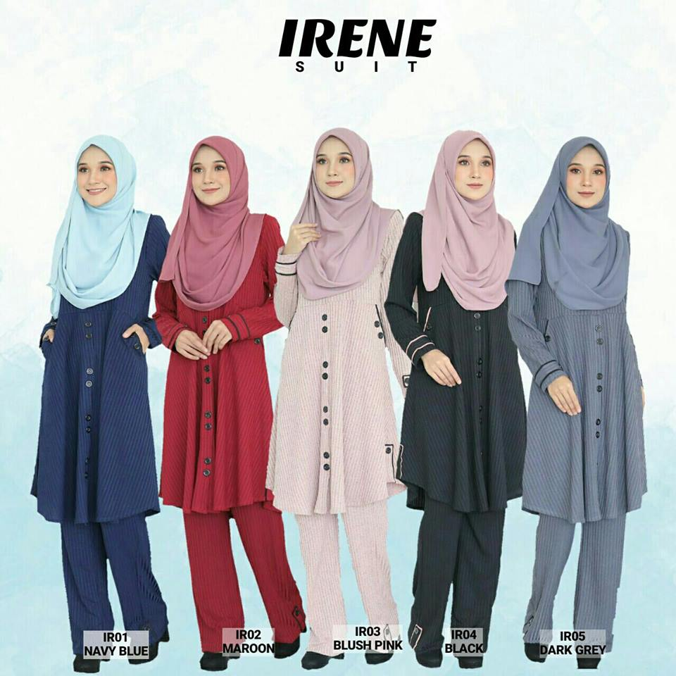 IRENE SUIT JBAH SELUAR ALL