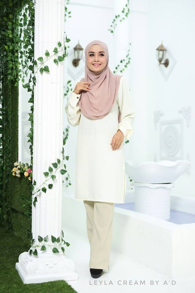 BLOUSE CREPE LEYLA CREAM 1