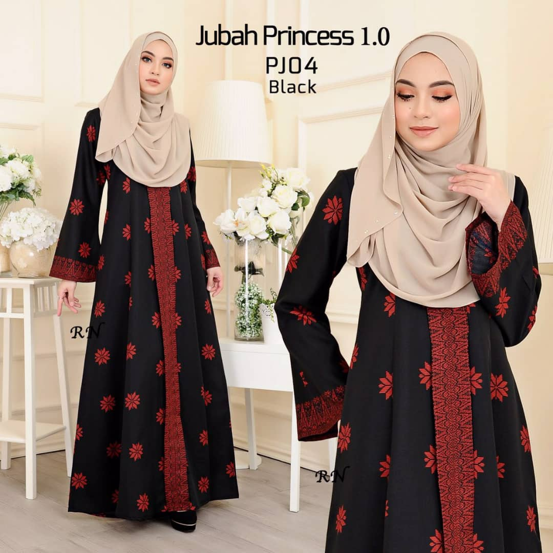 JUBAH MUSLIMAH SONGKET TERKINI PRINCESS PJ04