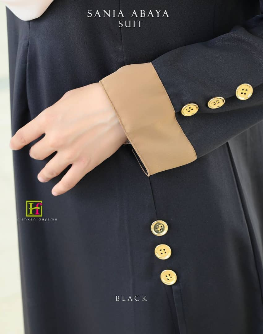 ABAYA SUIT SANIA CLOSE UP