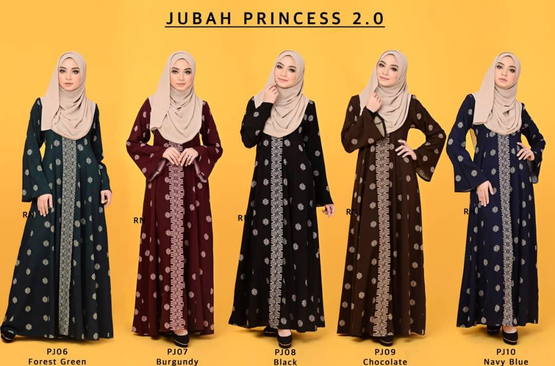 JUBAH PRINCESS SONGKET MUSLIMAH TERKINI ALL