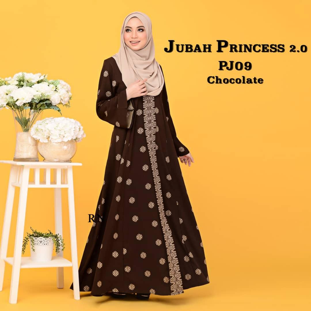 JUBAH PRINCESS SONGKET MUSLIMAH TERKINI PJ09