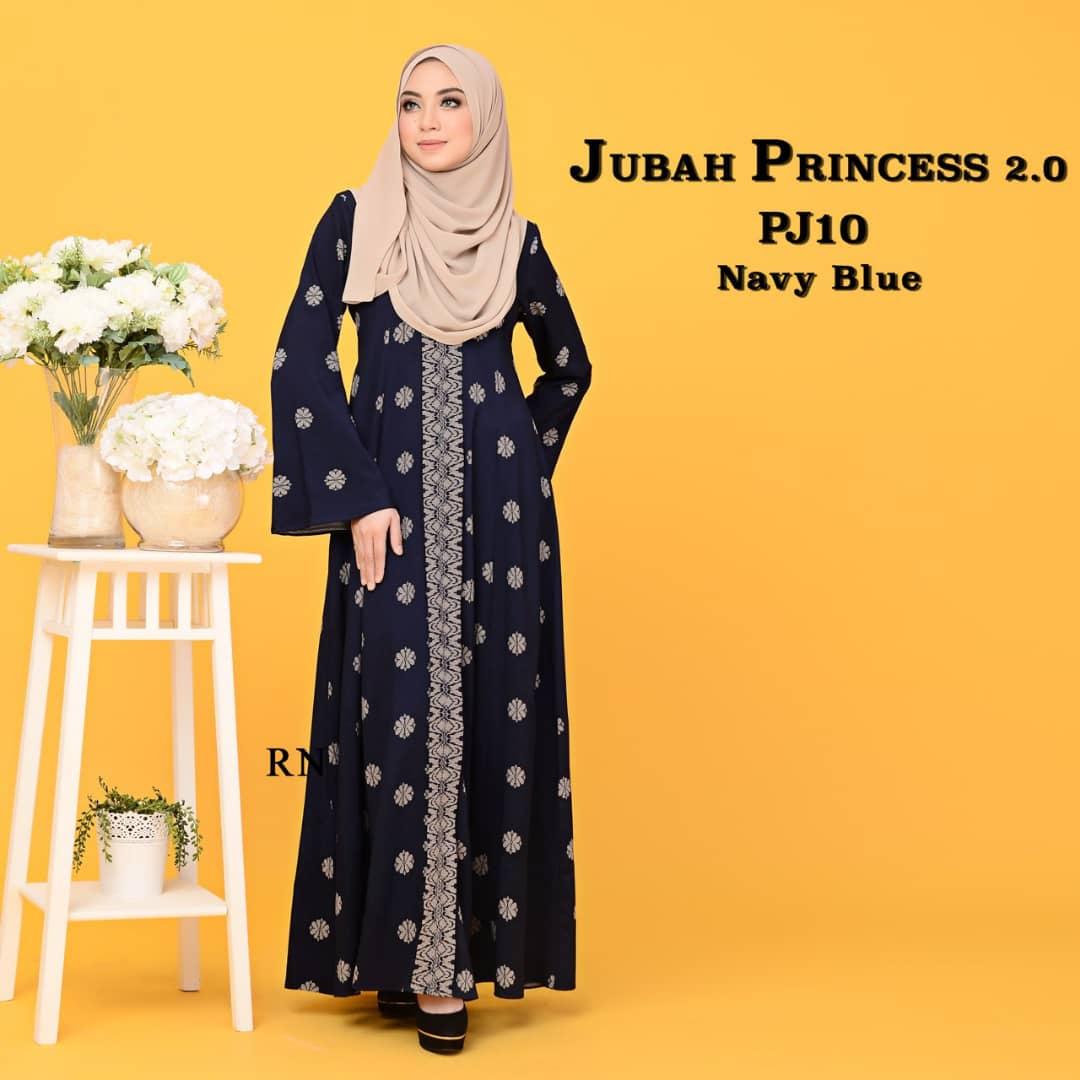 JUBAH PRINCESS SONGKET MUSLIMAH TERKINI PJ10